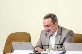 Minister of Education Mohammad Bat'haei is present in Iran's cabinet meeting, Iran, Tehran, March 13, 2019.