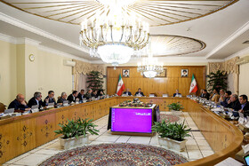 Iran's cabinet meeting, Iran, Tehran, March 13, 2019.