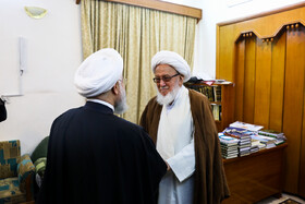 Iranian President's meetings in Iraq on third day, Iraq, March 13, 2019.