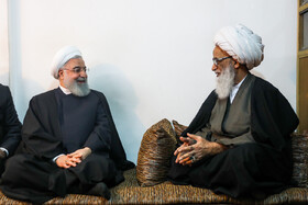 Mr Rouhani's meetings in Iraq on 3rd day