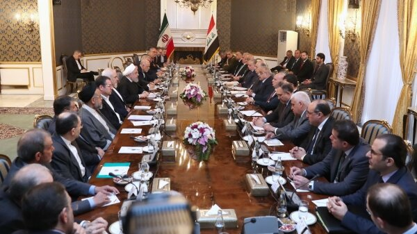 Iran, Iraq serious about further deepening of trade ties: Rouhani