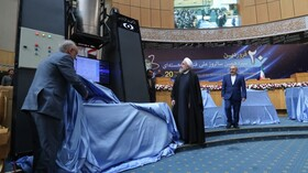Iranian President unveils 114 new achievements in nuclear technology