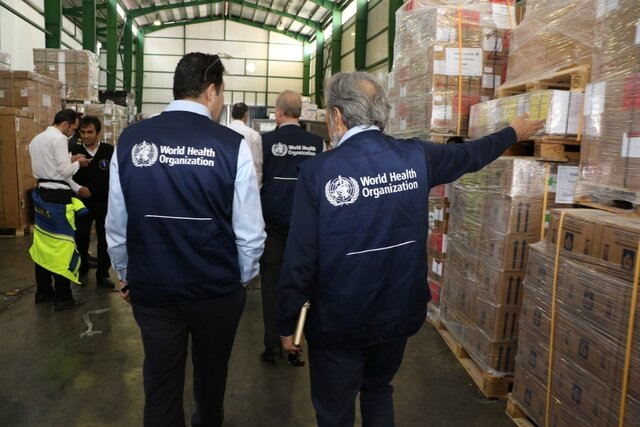 WHO airlifts medical supplies to people affected by floods in Iran