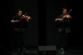 """""""Silent City"""" concert is performed in Tehran, Iran, April 13, 2019. """"Silent City"""" concert is performed in Tehran, Iran, April 13, 2019. Iranian musician and Kamancheh player Kayhan Kalhor and the """"Miniature"""" quartet group performed the concert."""