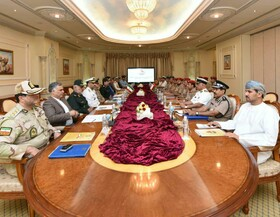 15th Iran-Oman joint military commission held in Muscat