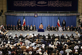Participants of 36th Intl. Quran Contests meet Iran's Leader