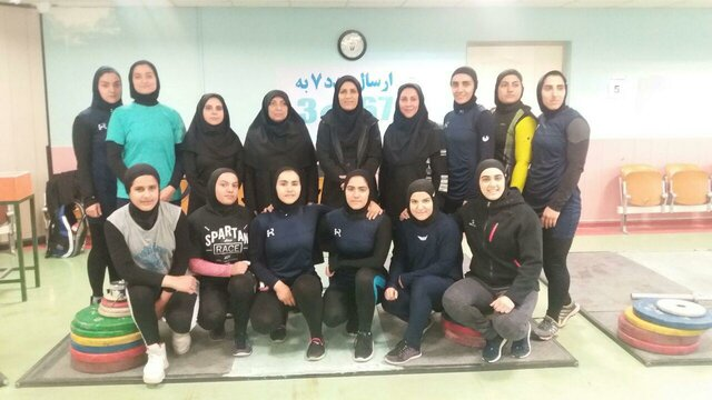Iran sending women's weightlifting team for the first time