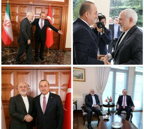 1st round of talks between Iranian, Turkish FMs held