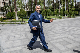 Head of Iran's Management and Planning Organization Mohammad Baqer Nobakht attends Iran's cabinet meeting, Tehran, Iran, April 17, 2019.