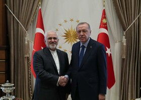 Iran FM meets with Turkish President