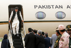 Pakistan's PM arrives in Mashhad