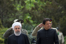 Iranian President officially welcomes Pakistan's PM