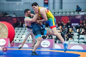 Iran claims 5 medals on opening day of Asian Wrestling Championships