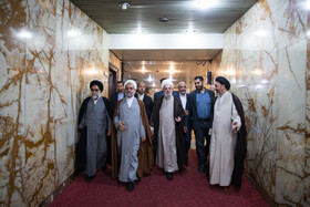 Inauguration ceremony of the new representative of Wali al-Faqih in Hajj affairs, Tehran, Iran, May 5, 2019.