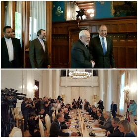 Iran's Zarif, Russia's Lavrov hold bilateral talks