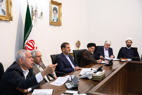 Session of the Supreme Council for Science, Research and Technology, Tehran, Iran, May 14, 2019.