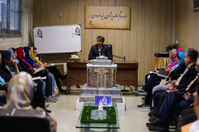 """Members of """"Ferdowsi Foundation"""" are seen in the photo, Mashhad, Iran, May 15, 2019. Effects of Ferdowsi and his long epic poem, Shahnameh, in Persian language and Iranian culture are undisputable."""