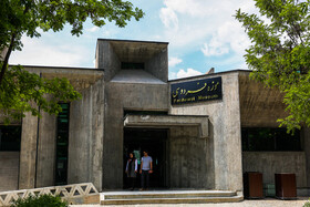 """Ferdowsi Museum is seen in the photo, Mashhad, Iran, May 15, 2019. May 15 is the """"National Ferdowsi Day"""" and also the """"Persian Language Day"""" in Iran."""