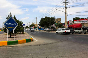 """Shahnameh Boulevard is seen in the photo, Mashhad, Iran, May 15, 2019. May 15 is the """"National Ferdowsi Day"""" and also the """"Persian Language Day"""" in Iran."""