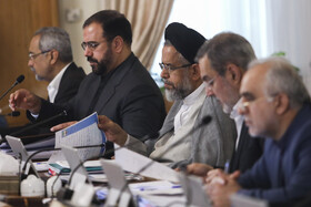 Iran's Minister of Intelligence Mahmoud Alavi (M) is present in Iran's cabinet session, Tehran, Iran, May 15, 2019.