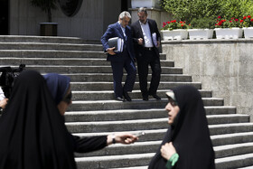 On the sidelines of Iran's weekly cabinet session, Tehran, Iran, May 15, 2019.