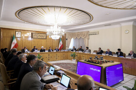 Iran's weekly cabinet session, Tehran, Iran, May 15, 2019.