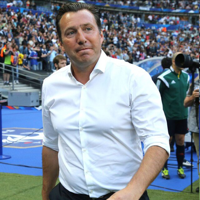 Marc Wilmots; new head coach of Iran's national football team