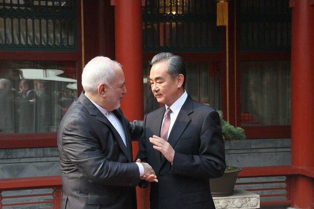 FM Zarif meets Chinese counterpart in Beijing