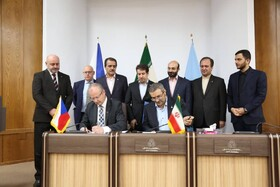 Iran, Czech Republic sign MoU on industrial cooperation