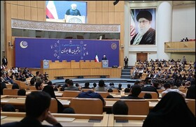 No power higher than Iran's nation, young generation: President Rouhani