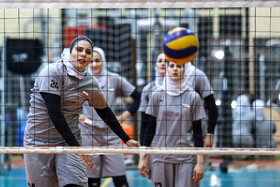 Iran's national volleyball team have training session