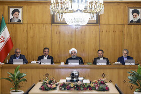 Iran's cabinet session held in Tehran