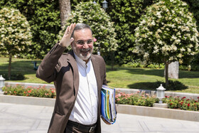 Iran's Minister of Education Mohammad Bat'haei is seen on the sidelines of Iran's cabinet session, Tehran, Iran, May 22, 2019.