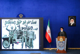 12th National Conference for Praising War Veterans, Tehran, Iran, May 23.