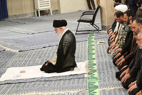 Mourning ceremony for Imam Ali in the presence of Iran's Leader Ayatollah Ali Khamenei, Tehran, Iran, May 26, 2019.