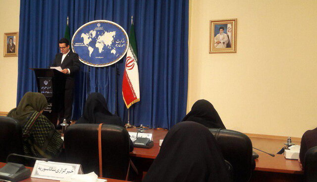 No prospect for talks with US: Iran Foreign Ministry spokesman