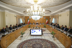 Weekly session of Iran's cabinet, Tehran, Iran, May 29, 2019.