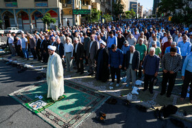 Offering Eid al-Fitr Prayers, Tehran, Iran, June 5, 2019.