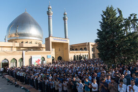 Offering Eid al-Fitr Prayers, Urmia, Iran, June 5, 2019.