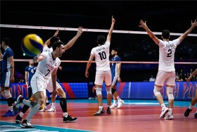 Argentina bends knee before Iran's Volleyball