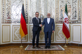 Iran's Zarif meets German counterpart
