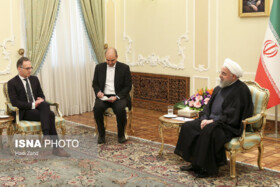 Europe should stand up to US' economic terrorism against Iranian nation: President Rouhani