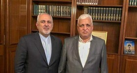 Zarif meets with head of Hashd al-Shaabi