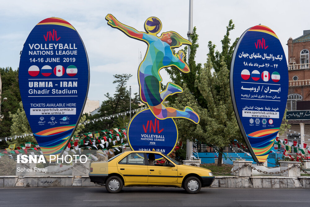 ISNA - Urmia's Ghadir Arena to host FIVB Volleyball Men's Nations League