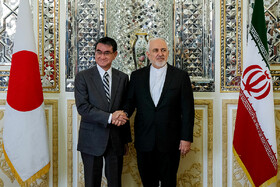 Iran, Japan FMs confer on bilateral, regional issues