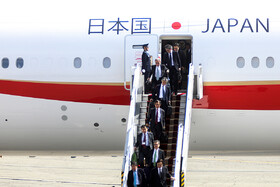 On the sidelines of Japanese Foreign Minister's arrival in Tehran, Iran, June 12, 2019.