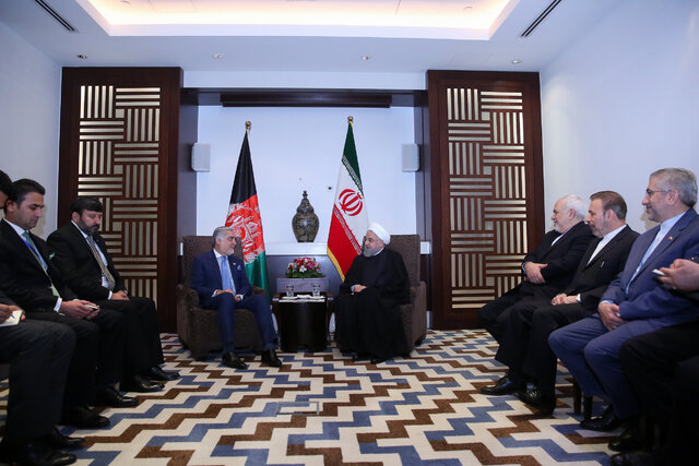 Iran favours Afghanistan's stability, security, development: Rouhani