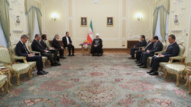 Europe's time for compensation limited: President Rouhani