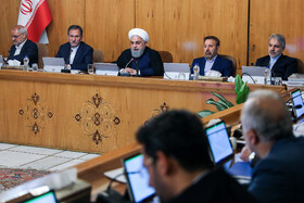 Iran's weekly cabinet session, Tehran, Iran, June 19, 2019.