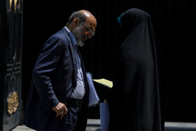 """On the sidelines of Iran's weekly cabinet session, Tehran, Iran, June 19, 2019. Speaking in a cabinet session on Wednesday, Dr Hassan Rouhani said, """"The United States' actions against the Iranian nation is not sanction, but economic terrorism and crime against humanity""""."""